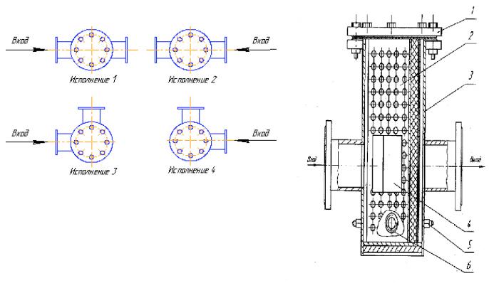ФГВ-50, ФГВ-80, ФГВ-150 фильтры газовые волосяные