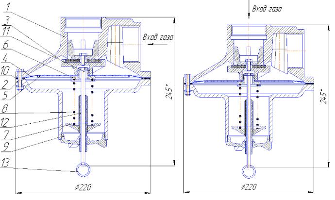 Пружина клапана предохранительного сбросного ПСК-50Н