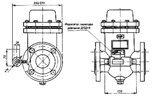 Фильтр газа ФГ-16-50 ДПД