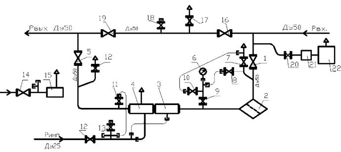 ПГБ-13-1Н(В)У1 с регулятором РДГ-50Н(В)