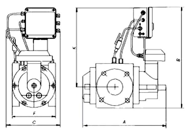 СГ - ЭКВз - Р - 0,75 - 65/1,6 (1:30) с ППД  справа
